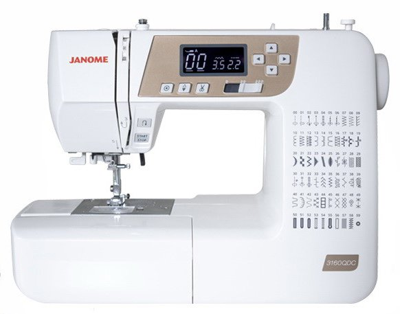 Janome 3160QDC-T Sewing Machine
