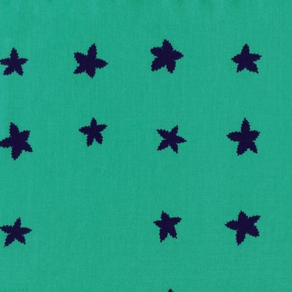 Stars - Aqua Indigo Fat Quarter Mesa Collection by Cotton+Steel