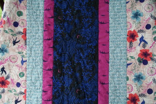 Hand Quilted Border Detail