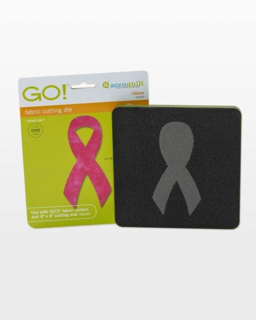 AccuQuilt GO! Awareness Ribbon