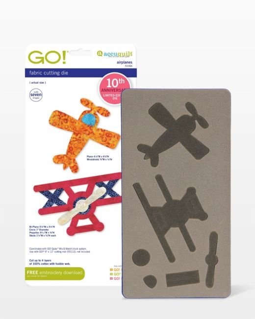 AccuQuilt GO! Airplanes