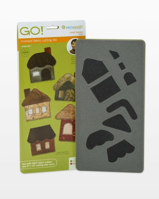 AccuQuilt GO! Small Houses by Reiko Kato