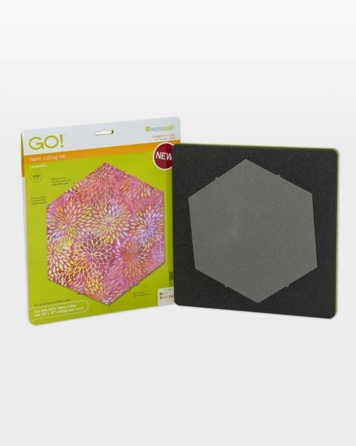 AccuQuilt GO! Hexagon Die - 4 1/2 Sides