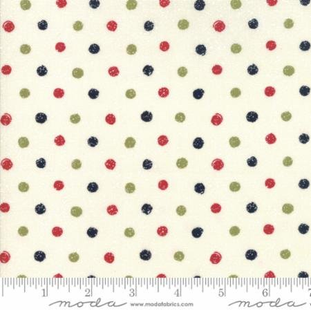 Holiday Dots Fat Quarter - Multi Overnight Delivery Collection by Sweetwater for Moda Fabrics