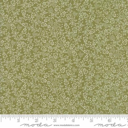 Berries Fabric - Green Overnight Delivery Collection by Sweetwater for Moda Fabrics