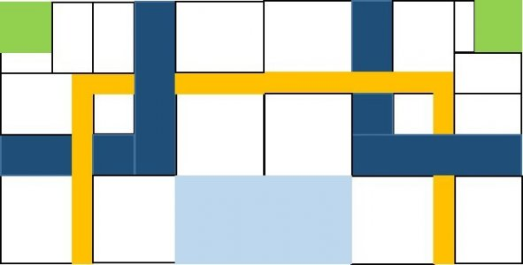 2016 Mystery Quilt Week 6 Pattern Block Clue 1 After