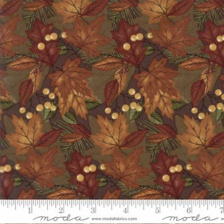 Country Road Fat Quarter in Earth by Moda Fabrics - copy