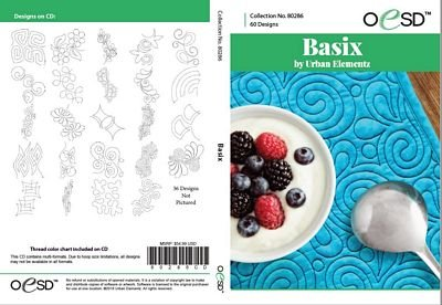 BASIX Quilting Embrodery CD By Urban Elementz for OESD