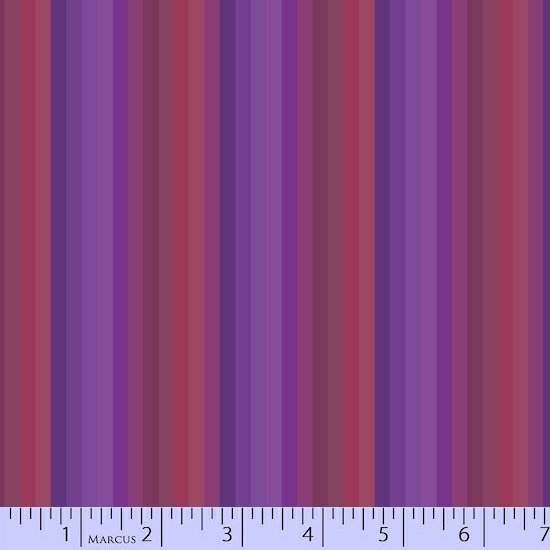 Purple Stripes Fabric Getting to Know Hue Collection by Marcus Fabrics