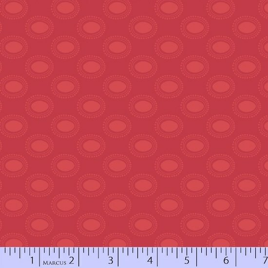 Coral Ovals Fabric Getting to Know Hue Collection by Marcus Fabrics