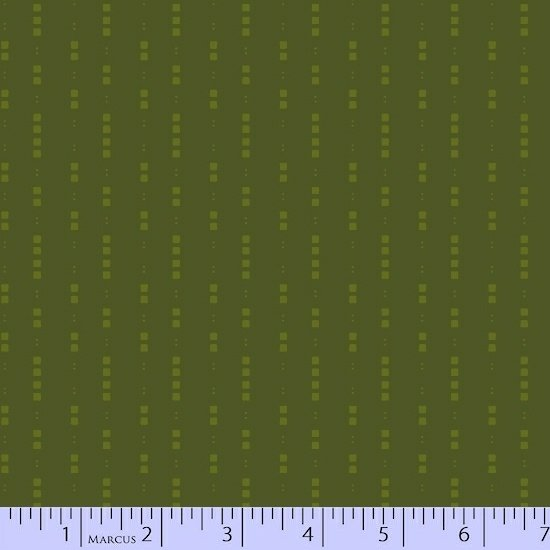 Olive Dots Fabric Getting to Know Hue Collection by Marcus Fabrics