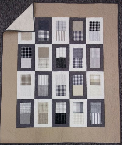 About Face Quilt Sample