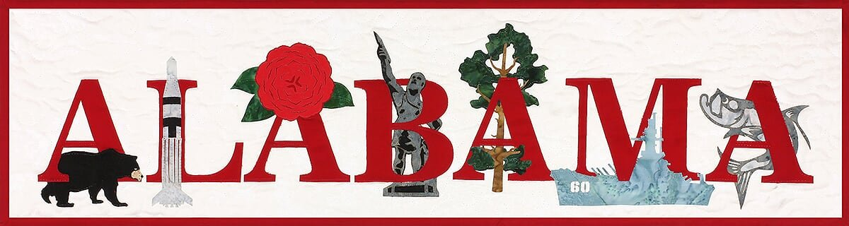 Alabama Banner Kit from the State Pride Collection by Westfield Laser Design