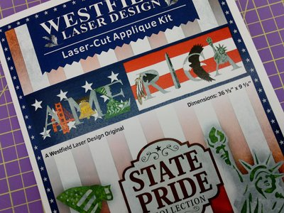 America Banner from the State Pride Collection by Westfield Laser Design