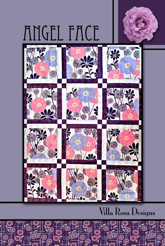 Angel Face RoseCard Quilt Pattern by Villa Rosa Designs