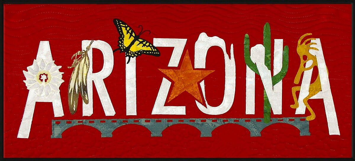 Arizona Banner Kit from the State Pride Collection by Westfield Laser Design