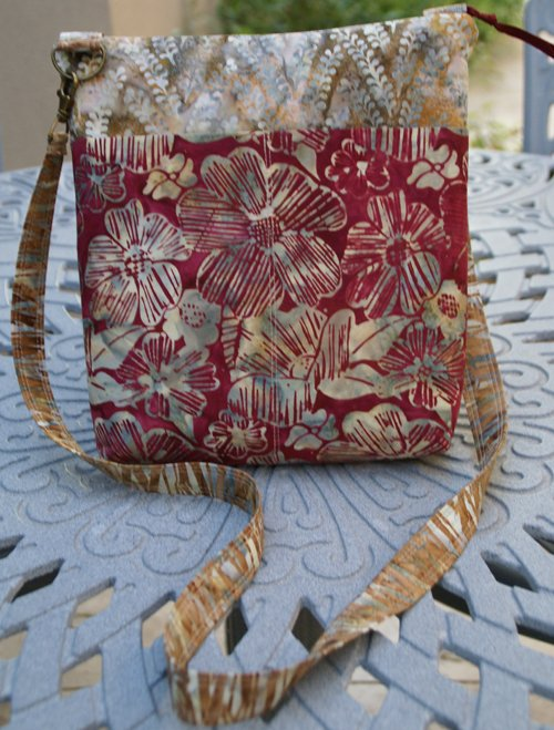 Barbados Bag in Cinnamon Spice by Pink Sand Beach Designs