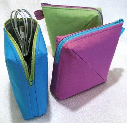 Bendy Bag Pattern by Lazy Girl Designs