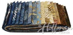 Bali Poppy - Beach Sand Precut Fabrics by Hoffman Fabrics