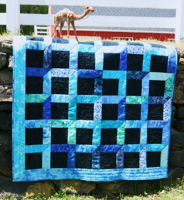 Brilliant View Quilt Pattern by Wendt Quilting