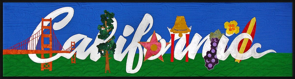 California Banner Kit from the State Pride Collection by Westfield Laser Design
