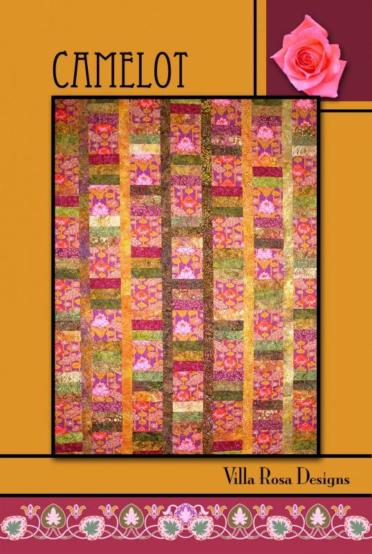 Camelot RoseCard Quilt Pattern by Villa Rosa Designs