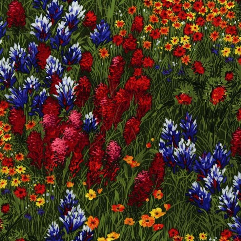 Wildflowers Fat Quarter by Michael Miller Fabrics