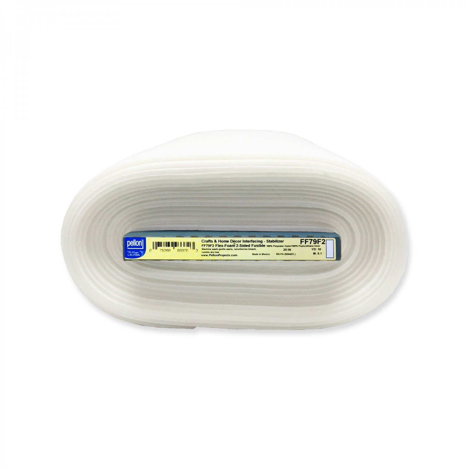 Flex Foam Two-Sided Fusible Foam - 20 wide by Pellon