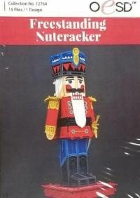 Free Standing Nutcracker Embroidery CD by OESD