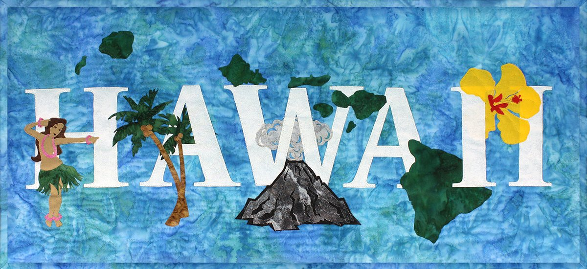 Hawaii Banner Kit from the State Pride Collection by Westfield Laser Design