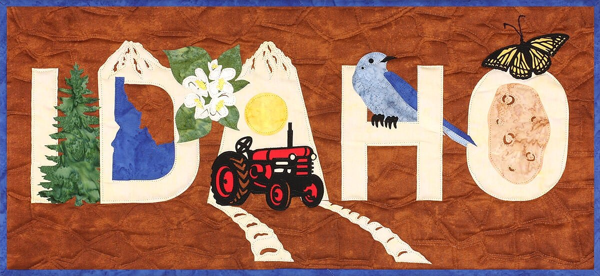 Idaho Banner Kit from the State Pride Collection by Westfield Laser Design