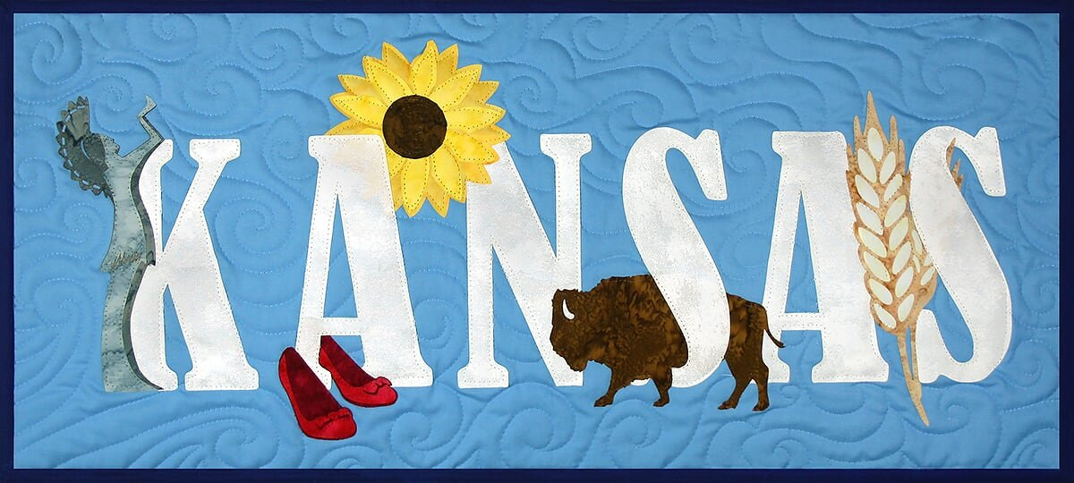 Kansas Banner Kit from the State Pride Collection by Westfield Laser Design