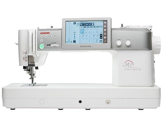 Janome M7 Continental Professional Sewing Machine
