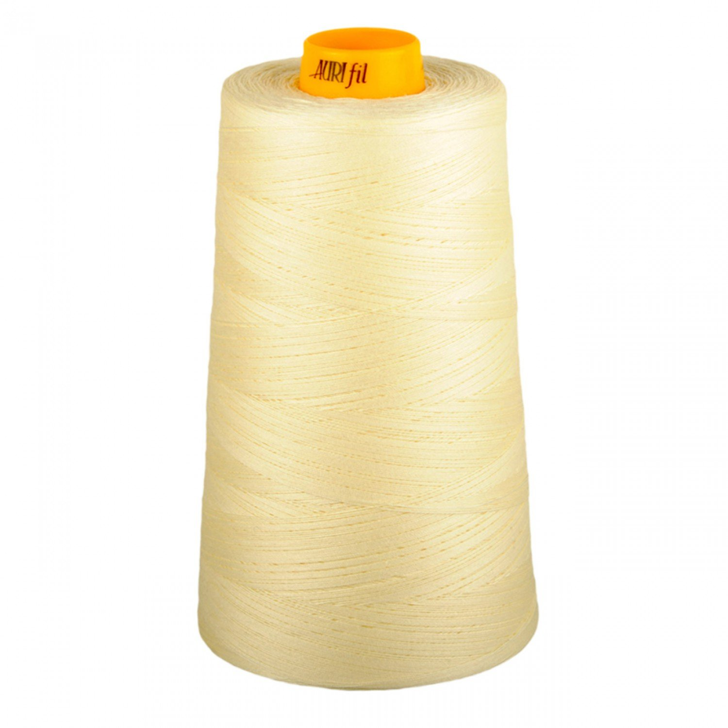 Aurifil Cotton 3-ply Longarm Thread 40wt 3280yds Light Lemon