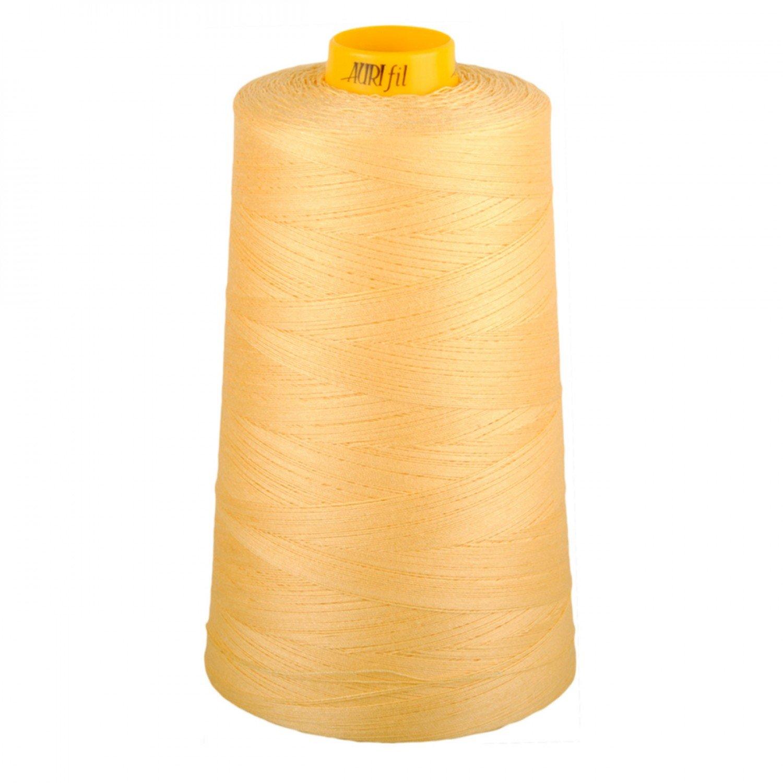 Aurifil Cotton 3-ply Longarm Thread 40wt 3280yds Medium Butter