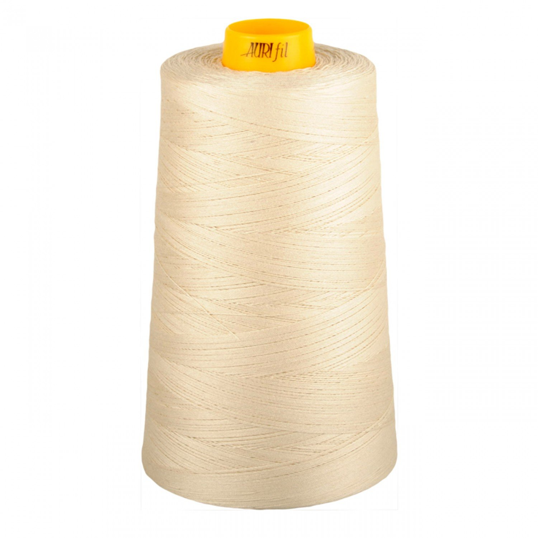 Aurifil Cotton 3-ply Longarm Thread 40wt 3280yds Light Beige