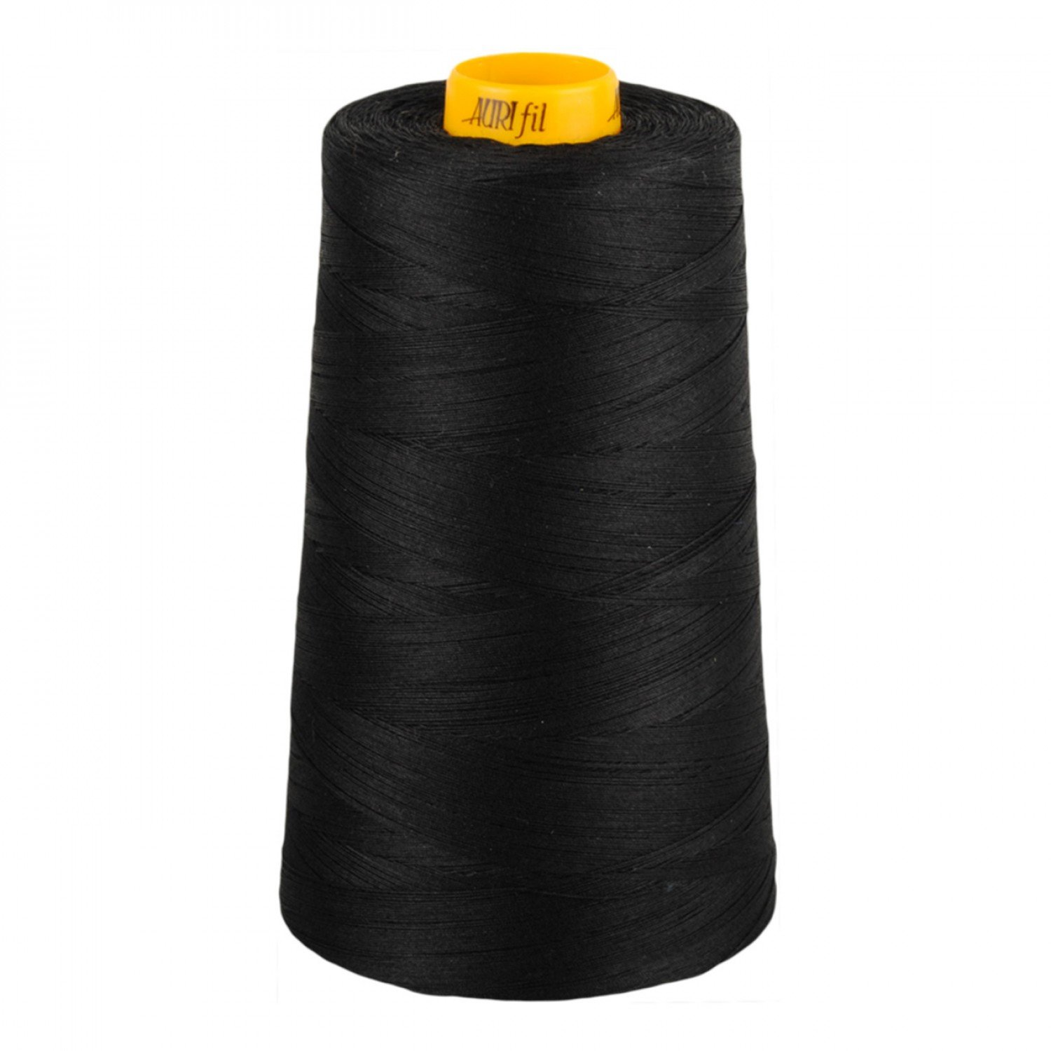 Aurifil Cotton 3-ply Longarm Thread 40wt 3280yds Black