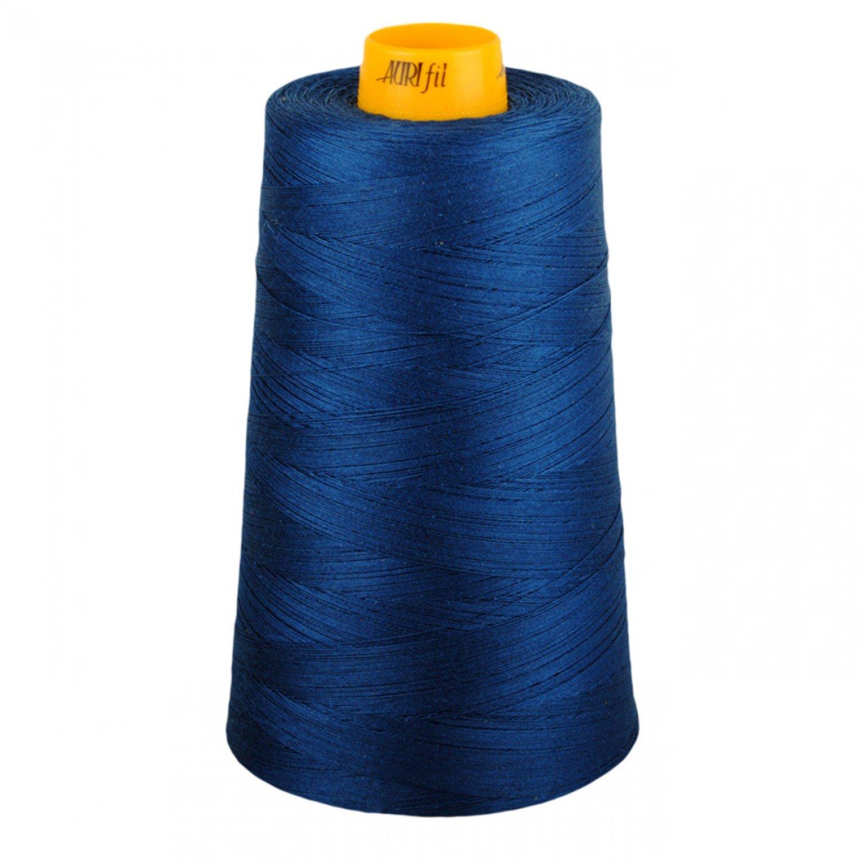 Aurifil Cotton 3-ply Longarm Thread 40wt 3280yds Medium Delft Blue