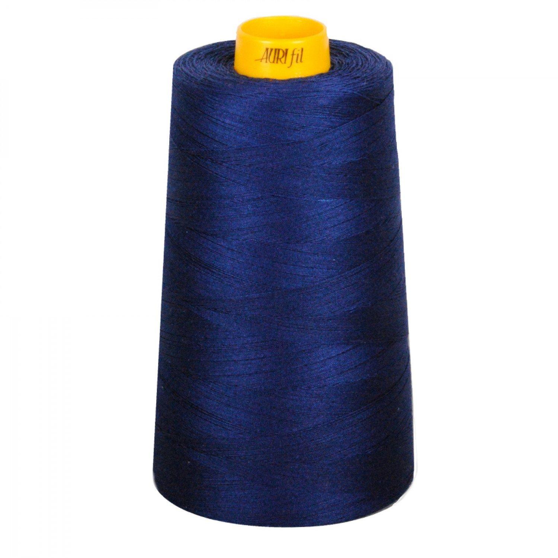 Aurifil Cotton 3-ply Longarm Thread 40wt 3280yds Dark Navy