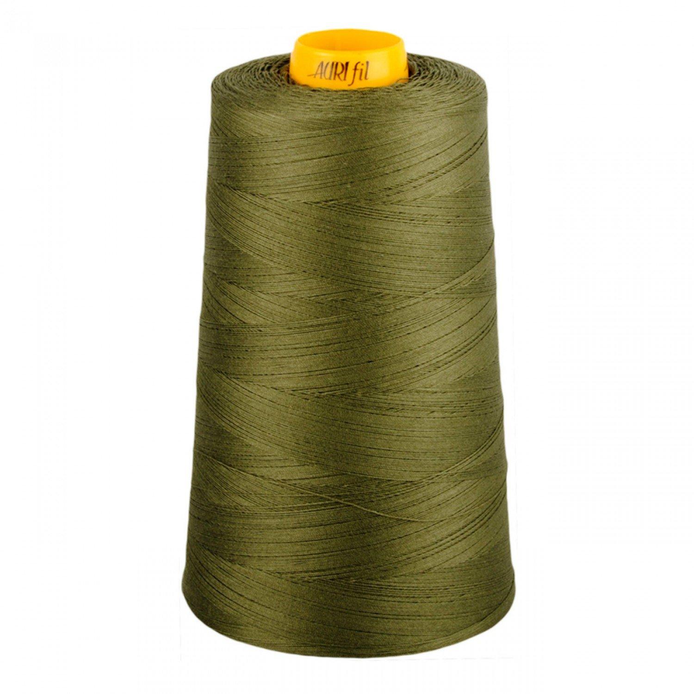 Aurifil Cotton 3-ply Longarm Thread 40wt 3280yds Army Green