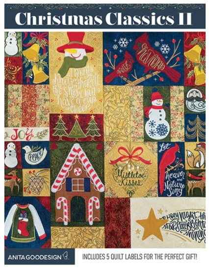 Christmas Classics II Premium Embroidery Collection by Anita Goodesign