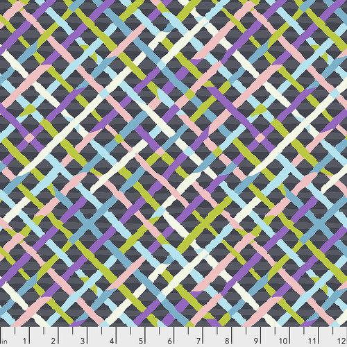 Mad Plaid Fat Quarter - Contrast by Kaffe Fassett for FreeSpirit Fabrics