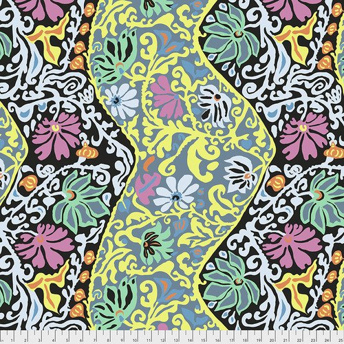 Bali Brocade Fat Quarter - Contrast by Kaffe Fassett for FreeSpirit Fabrics