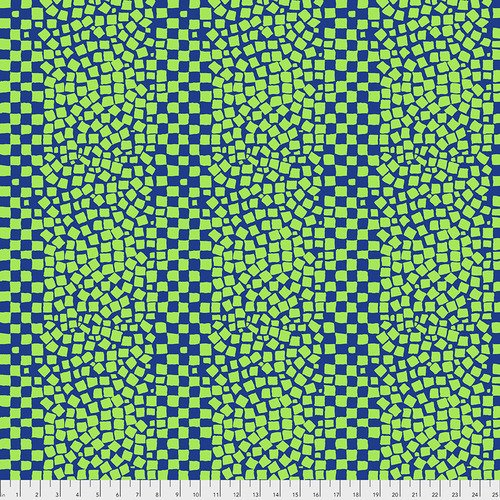 Chips Fat Quarter - Blue by Kaffe Fassett for FreeSpirit Fabrics