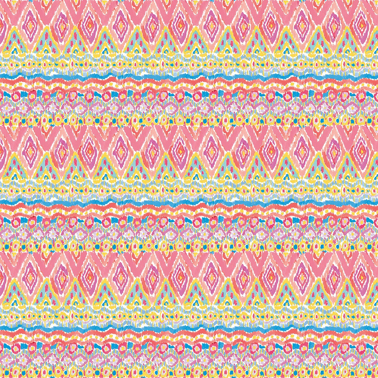 Zahara Stripe - Spring Fat Quarter Haute Zahara Collection by Free Spirit