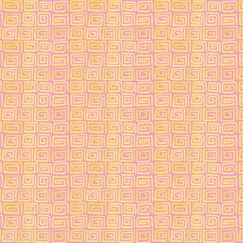 Zahara Key - Mustard Fat Quarter Haute Zahara Collection by Free Spirit
