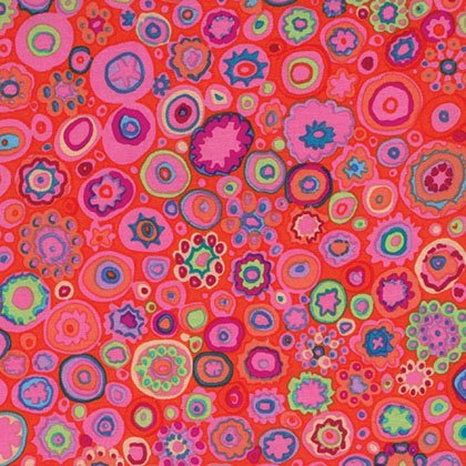 Paperweight Fat Quarter - Pink by Kaffe Fassett for FreeSpirit Fabrics