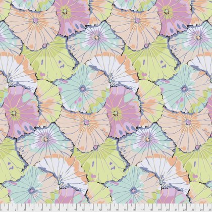 Lotus Leaf Fat Quarter - Contrast by Kaffe Fassett for FreeSpirit Fabrics