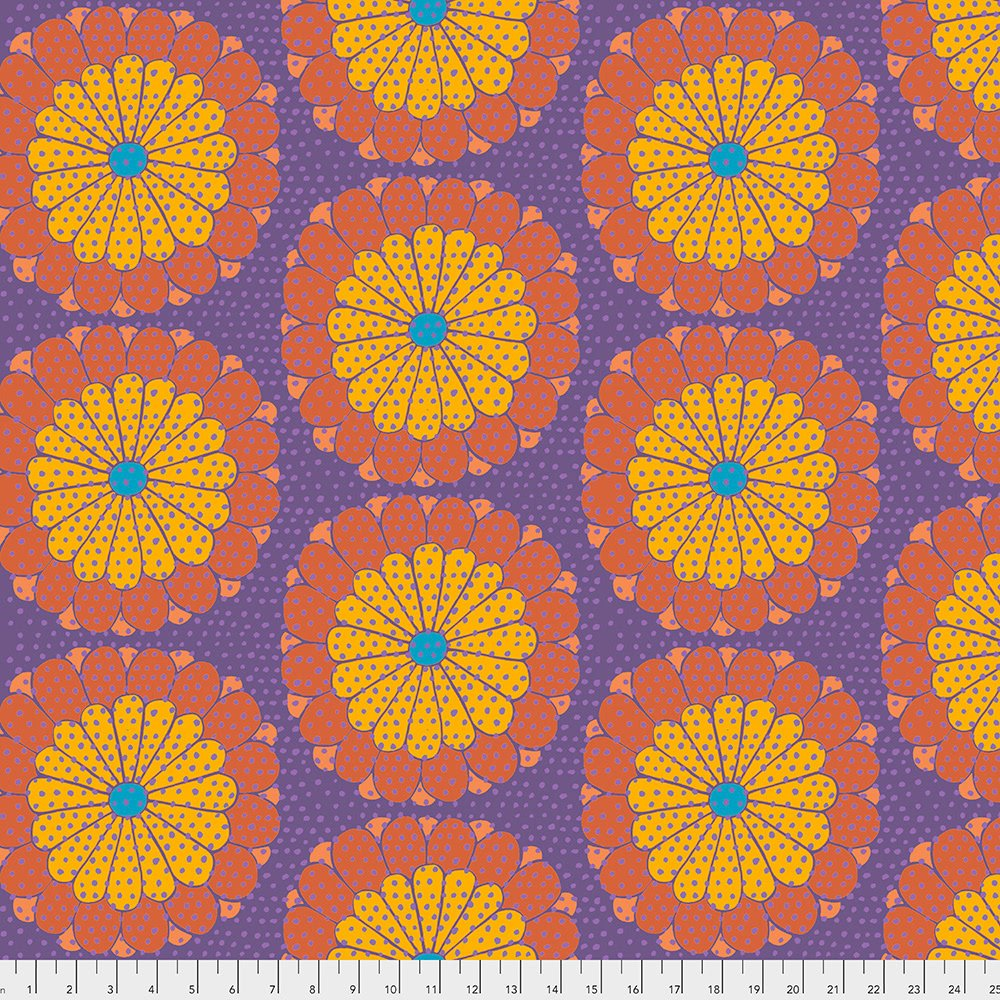 Artisan Kyoto Fabric - Orange by Kaffe Fassett for FreeSpirit Fabrics