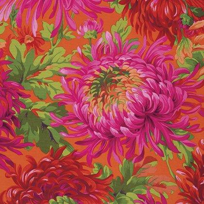 Shaggy Fat Quarter - Red by Kaffe Fassett for FreeSpirit Fabrics
